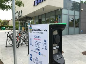 colonnina e-mobility